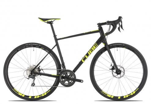 Cube Attain Race Disc 2019 50 cm | black´n´flashyellow