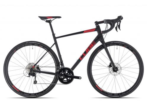 Cube Attain SL Disc 2018 50 cm | black´n´red