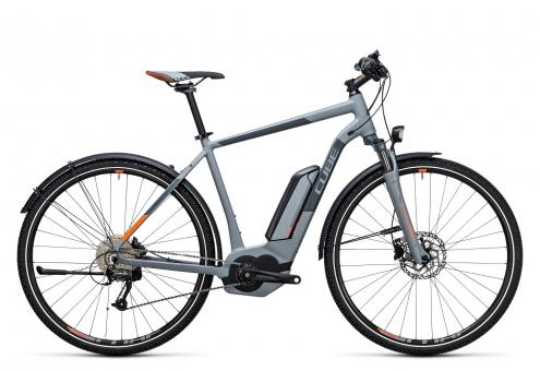 Cube Cross Hybrid One Allroad 500 Herren 2017 50 cm | grey`n`orange
