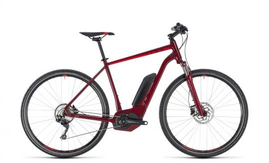 Cube Cross Hybrid Pro 500 Herren 2018 50 cm | darkred´n´red