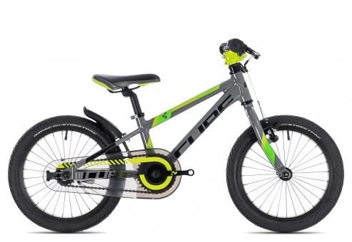Cube Kid 160 2019 16 Zoll | grey´n´green´n´kiwi