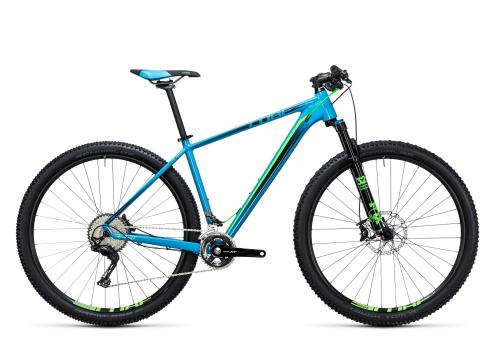 Cube LTD SL 2x 2017 16 Zoll | blue´n´green | 27.5 Zoll