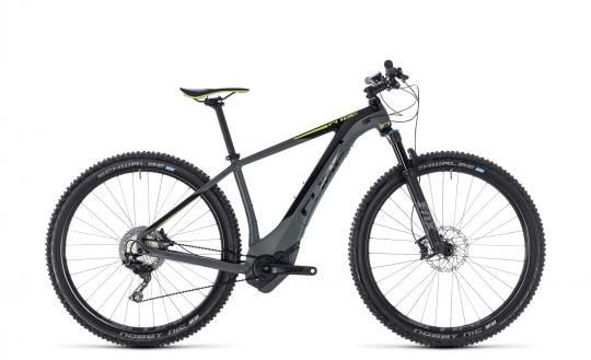 Cube Reaction Hybrid SLT 500 2018 17 Zoll | grey´n´green | 29 Zoll
