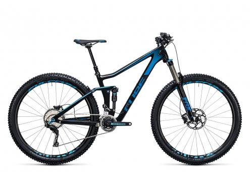 Cube Stereo 140 C:62 Race 29 2017 16 Zoll | carbon´n´blue