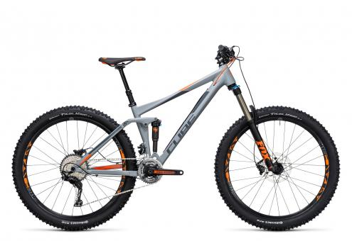 Cube Stereo 140 HPA Pro 2017 20 Zoll | grey´n´flashorange