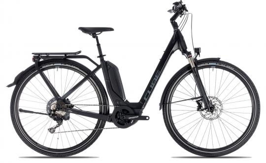 Cube Touring Hybrid EXC 500 Wave 2018 46 cm | black´n´grey