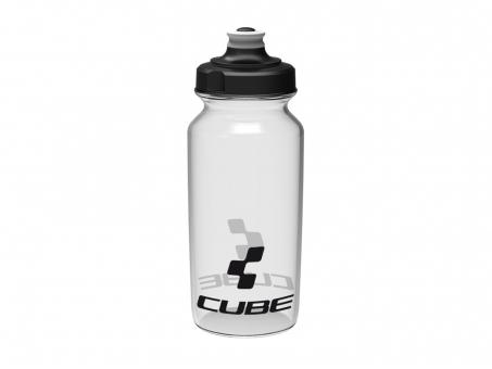 CUBE Icon Trinkflasche 500 ml 0,5 Liter | translucent