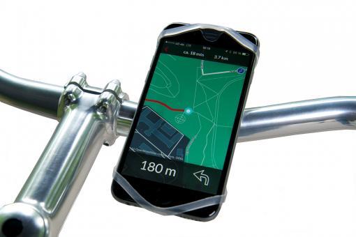 Finn Smartphone-Fahrradhalterung transparent
