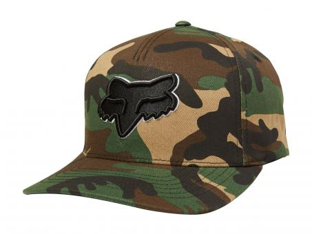 Fox Epicycles Flexfit Hat S/M | green camo