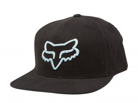 Fox Instill Snapback Hat unisize | black blue