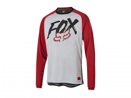 Fox Ranger Youth LS YS | steel grey