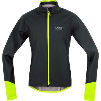 Gore Power Gore-Tex Active Jacket S | schwarz neon
