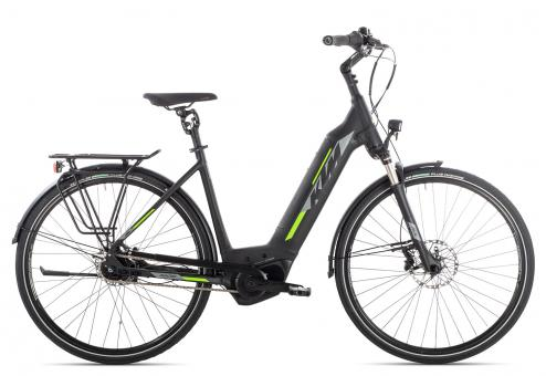 KTM MACINA CITY LTD 5 2019 46 cm | black matt/grey light green