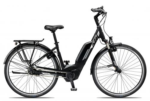 KTM MACINA CITY XL 5 2019 46 cm | black matt/white grey