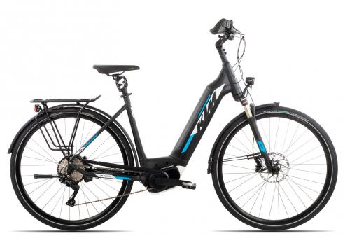 KTM MACINA STYLE 10 CX5 Wave 2019 56 cm | black matt/white azzuro