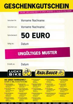 Geschenkgutschein Gutschein €50