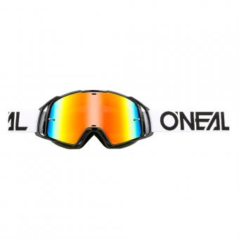 O´Neal B-20 Brille flat black white radium