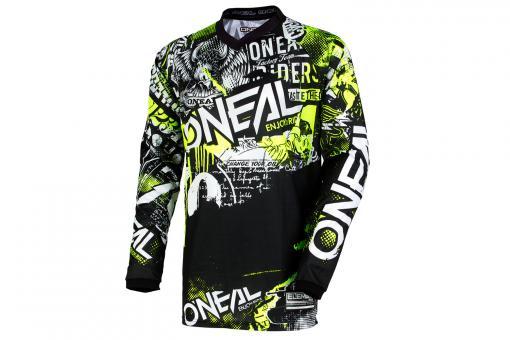 O'Neal Element Jersey L   Attack black hi viz