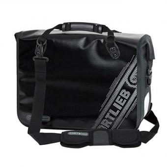Ortlieb Office-Bag Black´n White Hecktasche schwarz