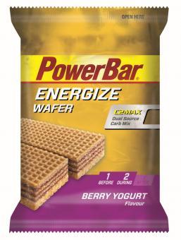 PowerBar Energize Wafer Waffel Berry Yogurt