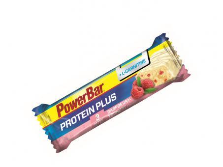 PowerBar Protein Plus + L-Carnitin Riegel Raspberry Yoghurt