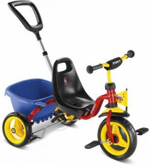 Puky Dreirad Cat 1S unisize | rot gelb