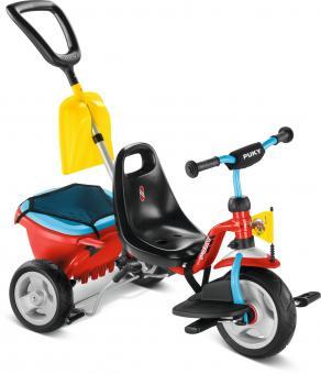Puky Dreirad Cat 1 SP unisize | rot blau