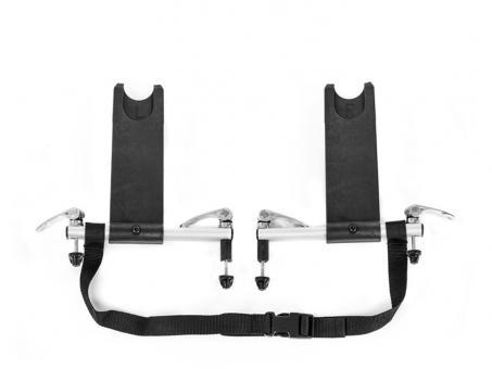 Qeridoo AD-18 Adapter für Babyschale schwarz