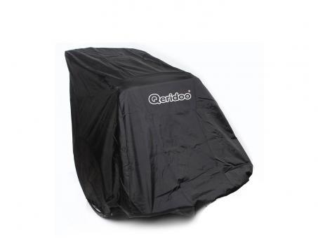 Qeridoo Faltgarage für Fahrradanhänger schwarz