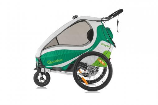 Qeridoo Kidgoo2 Sport Kindersportwagen grün