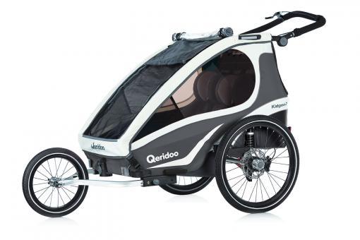 Qeridoo Kidgoo2 Sport Kindersportwagen 2 Kinder | anthrazit
