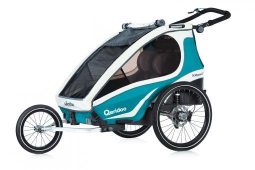 Qeridoo Kidgoo2 Sport Kindersportwagen 2 Kinder   aquamarin
