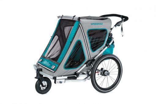 Qeridoo Speedkid2 Kindersportwagen aquamarin