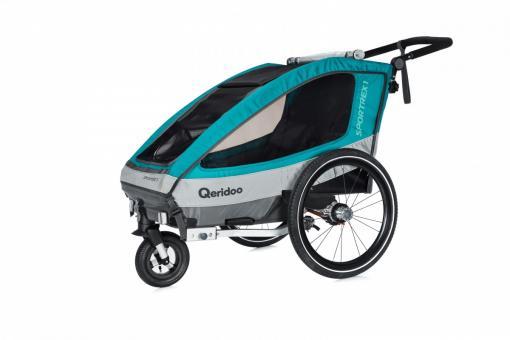 Qeridoo Sportrex1 Kindersportwagen 1 Kind | aquamarin