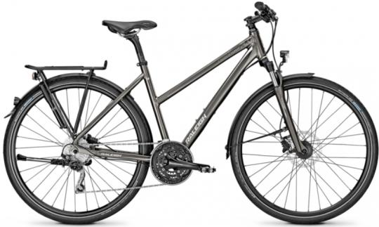 Raleigh Rushhour 3.0 Disc Damen 45 cm | carbonitegrey matt
