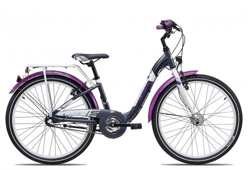 SCOOL chiX alloy 24 3-S 34 cm | darkgrey violett matt