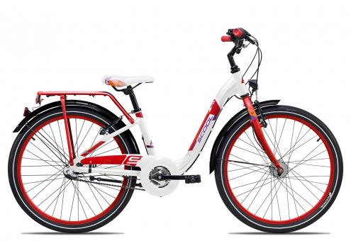 SCOOL chiX alloy 24 3-S 34 cm | white red