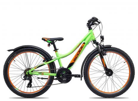 SCOOL troX urban 24 21-S 32 cm | neon green