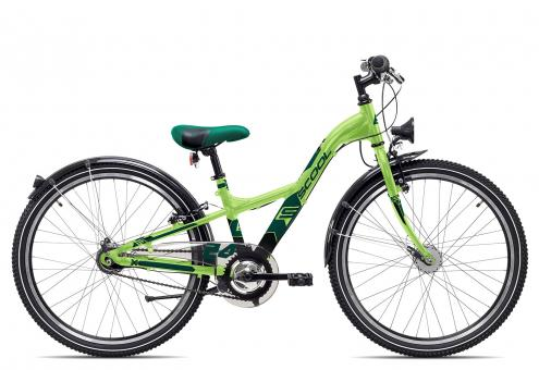 SCOOL XXlite steel 24 7-S 31 cm | neon green