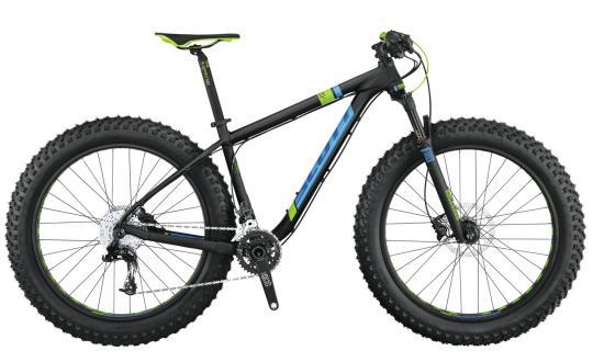 Scott Scale Big Ed Fatbike 44 cm | schwarz/blau