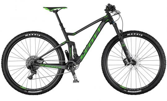 Scott Spark 945 2017 44 cm | black/anthracite/green