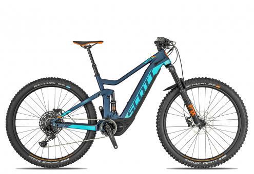 Scott Genius eRide 920 2019 19 Zoll   cobalt blue/blue/orange