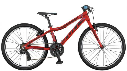 Scott Scale JR 24 Rigid 2017 43 cm | red black blue