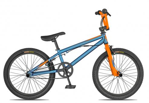 Scott Volt-X 20 2019 22 Zoll | cobalt blue/orange