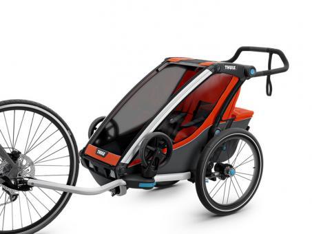 Thule Chariot Cross 1 Multisport-Fahrradanhänger 1 Kind | roarange dark shadow