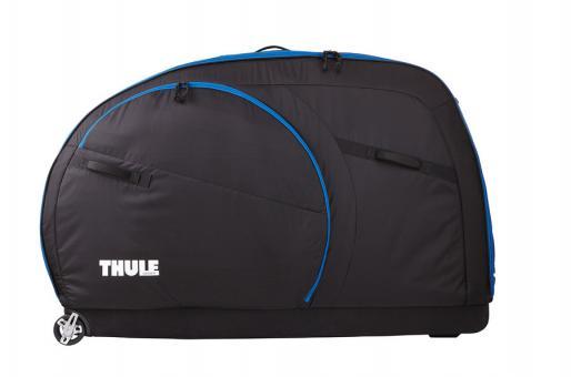 Thule RoundTrip Traveller Fahrradkoffer schwarz cobalt