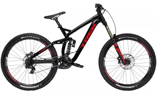 Trek Session 88 DH 2017 L | trek black