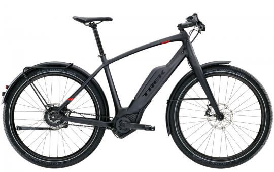 Trek Super Commuter + 9 2017 55 cm | Dnister Black