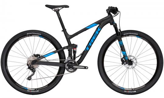 Trek Top Fuel 8 29 2017 18,5 Zoll | matte trek black