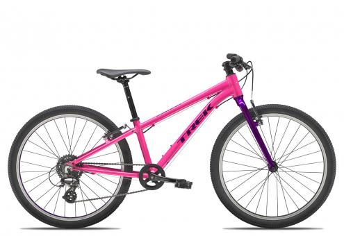 Trek Wahoo 24 Girl 2020 24 Zoll | flamingo pink/purple lotus